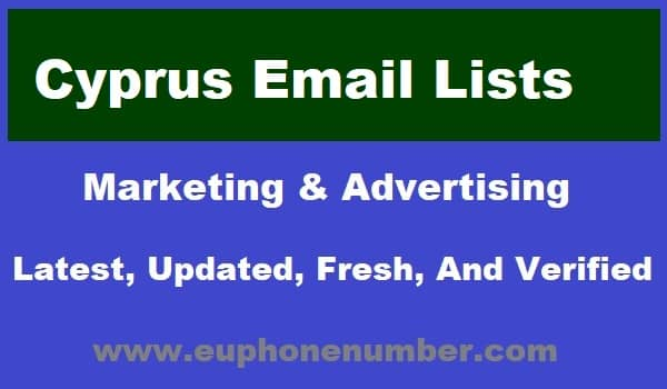 Cyprus Email Lists