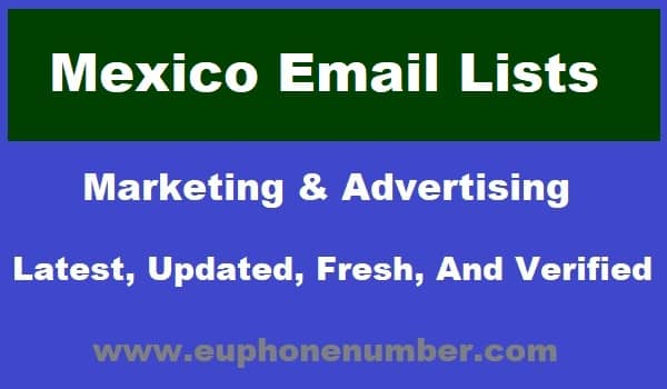 Mexico Email Lists