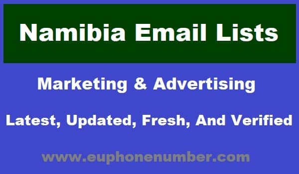 Namibia Email Lists